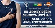 BK ARMEX Děčín vs. SLUNETA  Ústí nad Labem