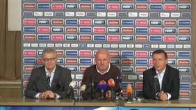 Tisková konference Michala Bílka po utkání s Itálií