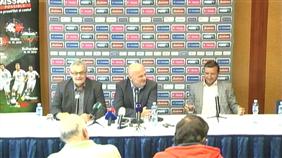 Předzápasová tisková konference s Michalem Bílkem