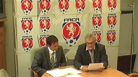 Tisková konference po Výkonném výboru FAČR