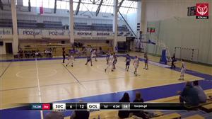 Biofarm Basket Suchy Las - Gryf Goleniów (2 LM Gr. A - 9 Kolejka)