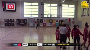Pomorskie - Mazowieckie - (XXIV Ogólnopolska Olimpiada Młodzieży - Turniej Dywizji A w koszykówce kobiet - Człuchów)