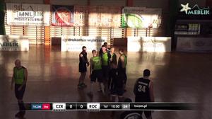 Czarni - Rozgwiazdy (Człuchowska Amatorska Liga Koszykówki)