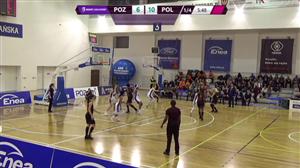 Enea AZS Poznań - CCC Polkowice (BLK - 13 kolejka)