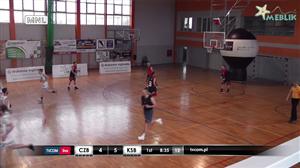 Człuchowskie Byki - KS Basket Piła (Człuchowska Amatorska Liga Koszykówki)