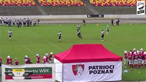 Patrioci Poznań - Tytani Lublin - (Ćwierćfinał PLFA II)