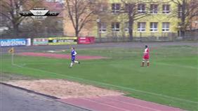 SK Spartak Slatiňany - FK Pardubice B (Fortuna Divize C, 14. kolo)