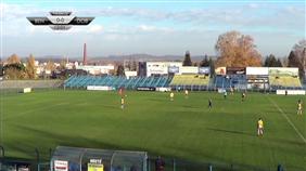 SK Benešov - FK Dobrovice (Fortuna ČFL, 14. kolo)