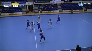 AZS UG Gdańsk - Pogoń 04 Szczecin (Futsal Ekstraklasa - 15 kolejka)