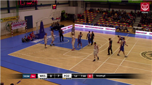 WKS Śląsk Wrocław - Biofarm Basket Poznań (1LM - 26 kolejka)