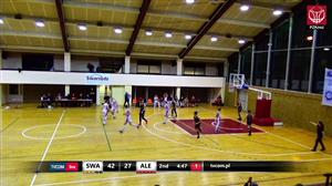 Lider Swarzędz - UKS Basket SMS Aleksandrów Łódzki (1LK Gr.B - play off - 1 mecz)