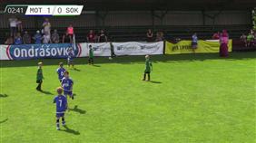 FK Motorlet Praha - FK Baník Sokolov (Ondrášovka Cup, U8)