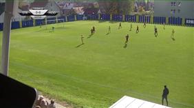 FC Strání - FK Hodonín (Fortuna Divize E, 12. kolo)
