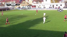 FC MAS Táborsko B - FC ZVVZ Milevsko (Ondrášovka Krajský přebor - Jihočeský kraj, 15. kolo)
