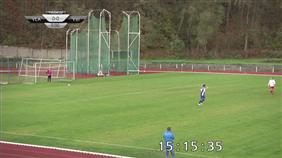 FC Sellier & Bellot Vlašim - FC Velim (Ondrášovka Krajský přebor - Středočeský kraj, 13. kolo)