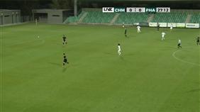 FC Chomutov - SK Aritma Praha (Fortuna Divize B, 14. kolo)